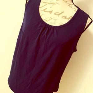 Land's End Pleated Top 0X
